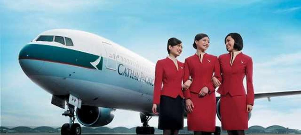 Cathay Pacific, best of the best en 2014.
