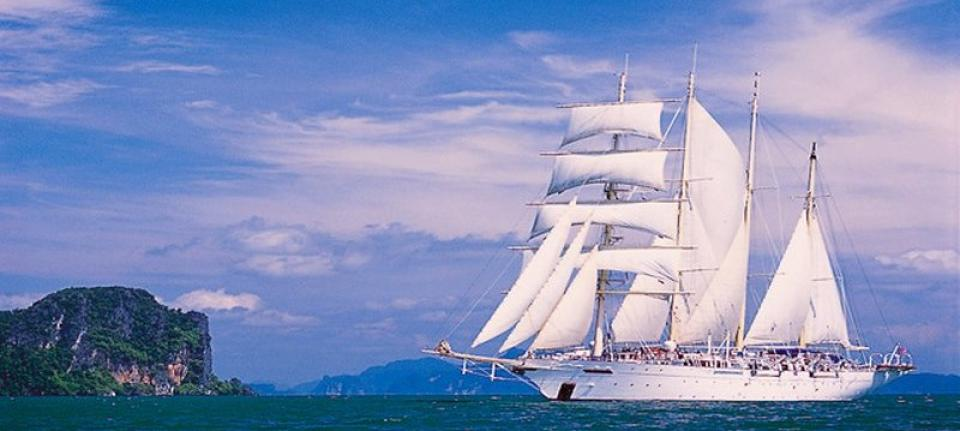 Le superbe Star Clipper.