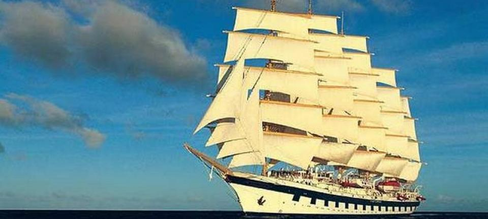 Le majestueux Royal Clipper.