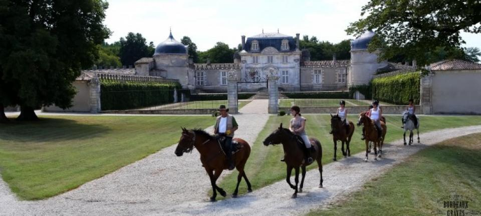 HORSES AND VINE, 2 PASSIONS AT  CHÂTEAU DE BEAUSITE . DR