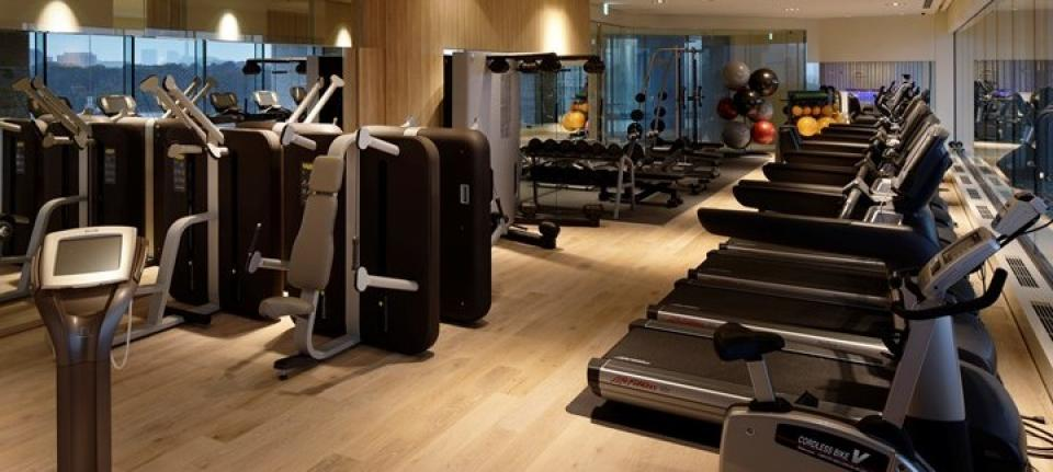 Un fitness center de pros !