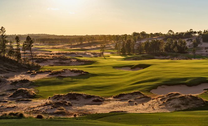 Sand Valley, dans le Wisconsin (USA).