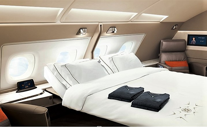 Le TOP : la first double cabin de SIA.