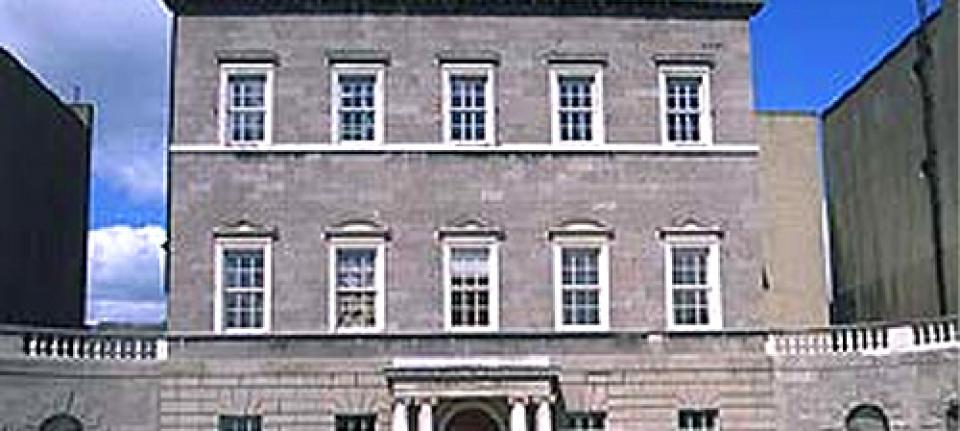 La façade de la Dublin City Gallery The Hugh Lane
