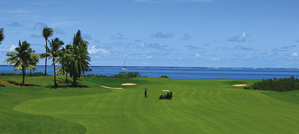Le golf du Four Seasons Resort Mauritius at Anahita