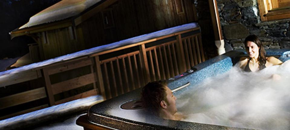 Chalets Cocoon spa